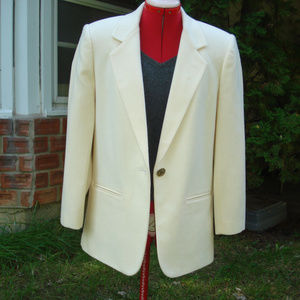 Wool Sag Harbor Blazer Single button